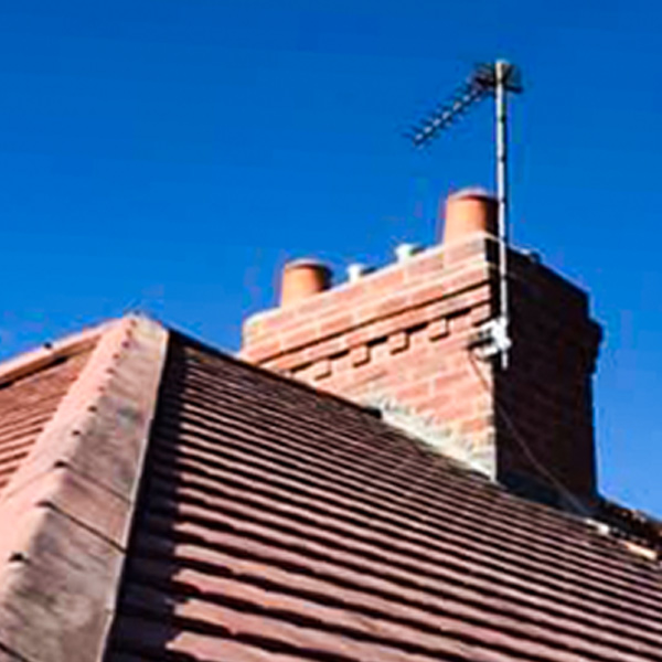 New roof and chimney