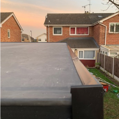 New flat roof Doncaster