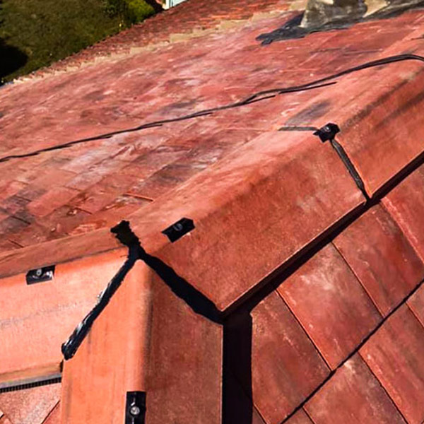 Dry Ridge system installed by Ridgeline Roofing